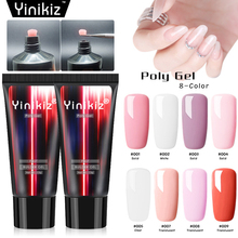 8 Colors 15ml Nail Poly Gel Cream Quickly Builder