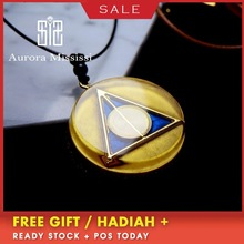 AURA REIKI Orgonite Purifying Reiki Natural Crystal Pendant Creative Magic Witch Accessories Glamour Jewelry For Women