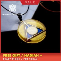 AURAREIKI Orgonite Purifying Reiki Natural Crystal Pendant Creative Pendant Magic Witch Accessories Glamour Jewelry For Women