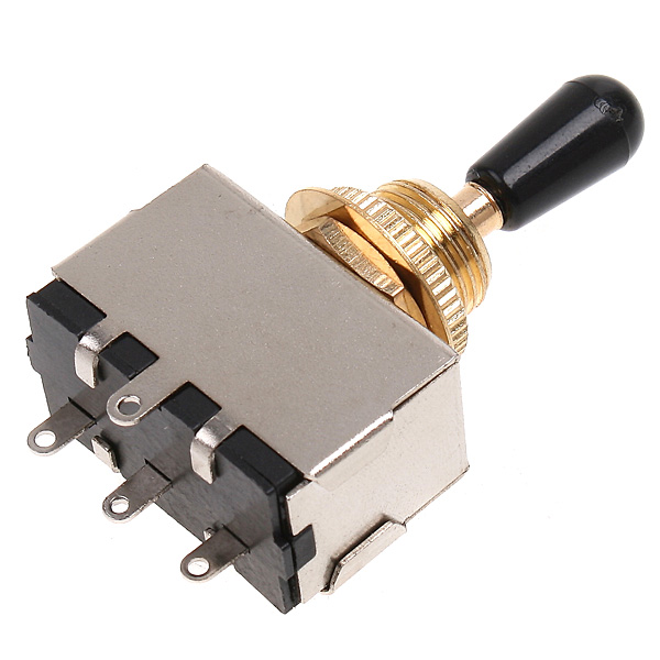 1 Pcs Homeland Zinc Alloy 3 Way Toggle Switch Suitable For LP GIBSON SG Electric Guitarra Guitar And Bass Accessories