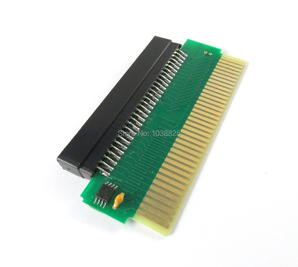 60 Pin To 72 Pin Adapter Converter For Nintendo NES Console System (For FC To NES Converter )