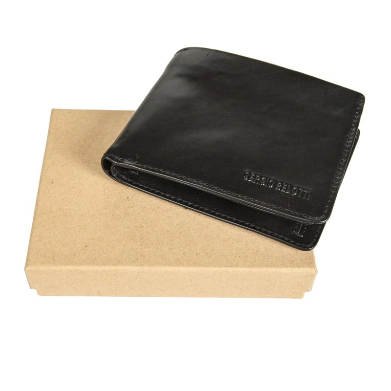 Coin Purse Sergio Belotti 3540 IRIDO black women s fashion pu leather messenger hobo handbag purse shoulder bag purse lady tote black