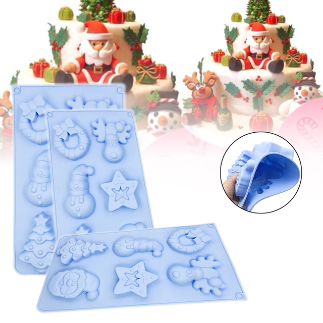 Christmas Silicone Soap Mold