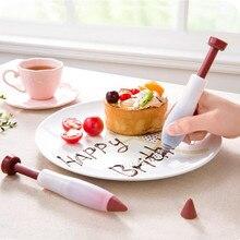 1 шт. украшение для торта, десерта ручка для печенья Печенье Хлеб салат отделочных работ десертный прибор шоколад Варенье пишущая ручка