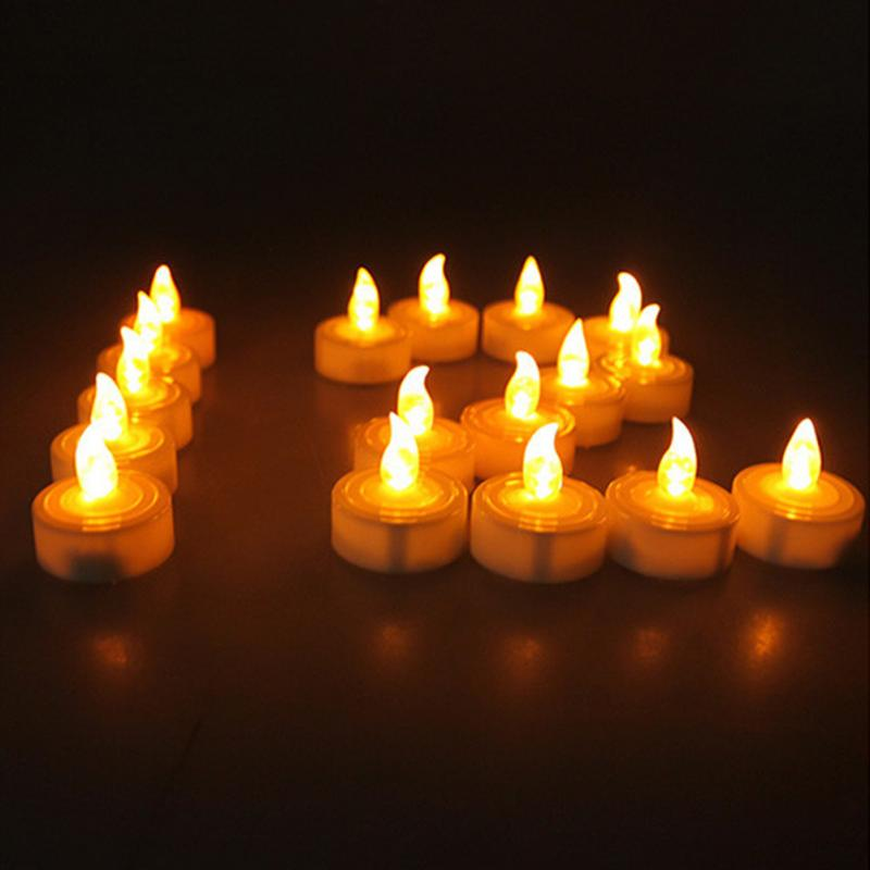 Home Decor 1pcs Led Candle Light Tealight Home Party Decor Wedding Birthday House Table Electronic Candle Light Smokeless Flameless Candle To Ensure A Like-New Appearance Indefinably