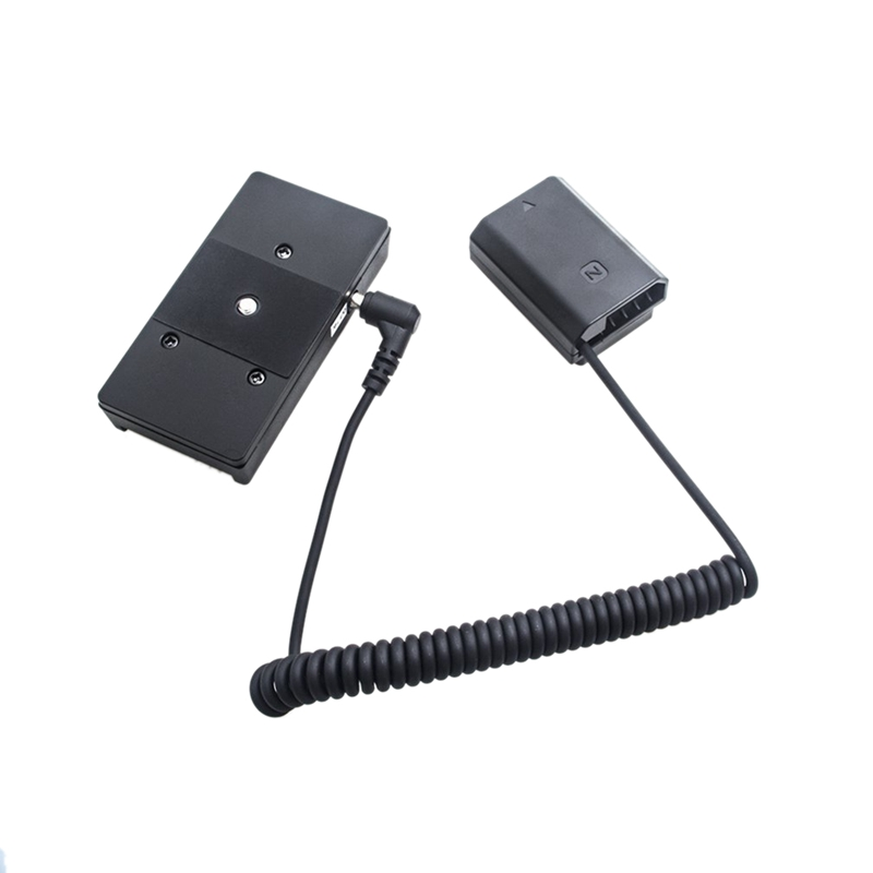 Power Adapter Np Fz100 Full Decoding Dummy Battery F970 Battery Mount Plate Adapter Spring Cable For