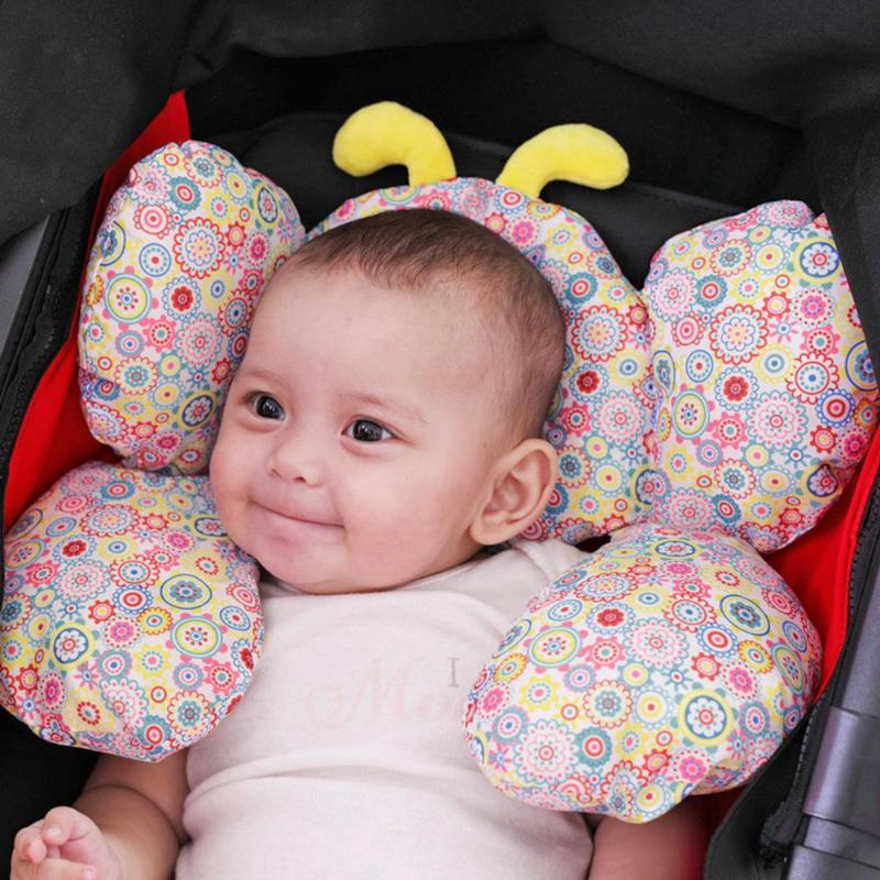 Mother & Kids Friendly Baby Shaping Pillow Stroller Sleep Headrest Neck Protection U-shape Cushion Baby Crib Bunker Bed Pillow Baby Positioner Pillow