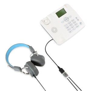Image 4 - Electop nowy 1PC 25cm podwójny 3.5mm gniazdo Audio kobiecy męski RJ9 przejściówka Adapter konwerter kabel komputer stancjonarny zestaw słuchawkowy telefon za pomocą
