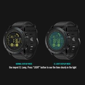 Image 5 - Spovan reloj inteligente para deportes al aire libre para hombre, reloj de pulsera con podómetro para iOS y Android, resistente al agua hasta 50M, recordatorio de llamadas y mensajes