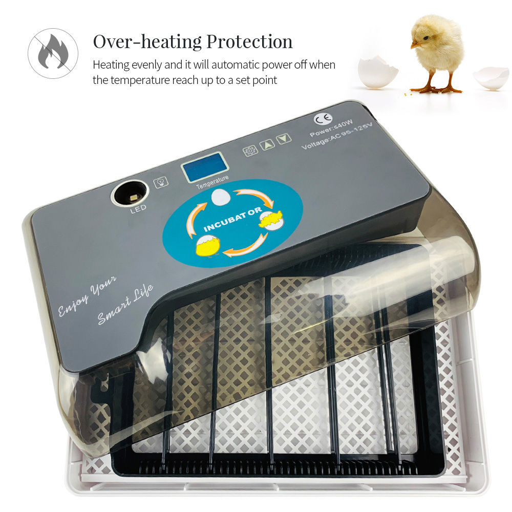 Digital enchufe de la UE huevo incubadora automática huevos Hatcher con Eggtester huevo automático en 12 huevos de aves de corral Hatcher máquina de nosotros es-in Suministros de alimentación y bebida from Hogar y Mascotas    3