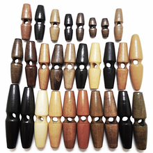 5 шт 50 шт 100 шт из натурального дерева рога большие деревянные пуговицы для шитья поделок Скрапбукинг сделай сам для одежды пальто ручной работы овальные пуговицы