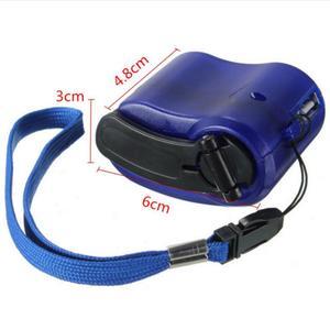 Image 4 - Universal Tragbare Notfall Hand Power USB Lade Ladegerät Hand Kurbel für Handys Camping Rucksack Überleben Werkzeug 2019