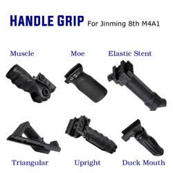 ABS тактическая ручка Foregrip для JinMing 8th M4A1 гелевый шар игра вода для игрушечных пистолетов аксессуары