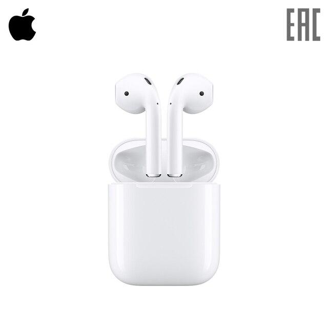 Наушники беспроводные Apple AirPods (MMEF2ZE/A) [официальная российская гарантия]