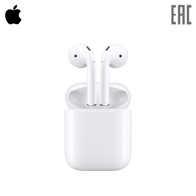 in-ear Apple AirPods bluetooth earphone Wireless headphone Headphone with microphone  bluetooth earphone in-ear чехол для iphone 5 глянцевый с полной запечаткой printio космос ссср