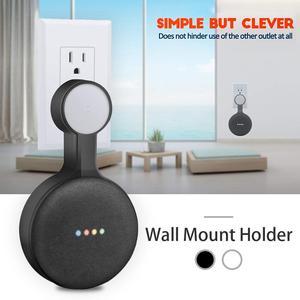 Image 2 - Support de montage mural pour prise daide vocale Google HomeMini support de gestion de cordon Plug In cuisine chambre haute qualité nouveau