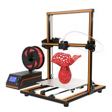 Anet E12 Aluminum Frame Multi language 3D Printer DIY Set With LCD Screen Support SD Card