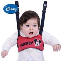Disney Baby Walking Belt Adjustable Strap Leashes Infant Learning Walking Assistant Toddler Safety Harness Exercise Safe Keeper