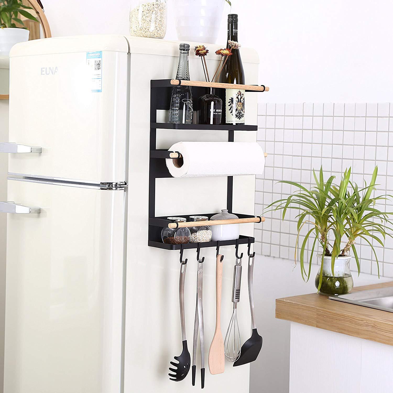 Hot Sale Kitchen Rack Fridge Magnetic Organizer Design