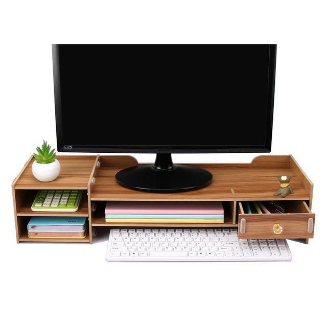 Organizador Home Decoration Accessories Design Plate Nordic Computer Display Stand Estantes Repisas Prateleira Organizer Shelf