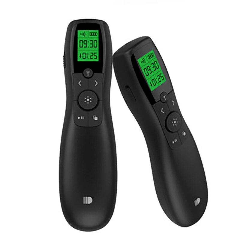 2018 New Doosl 2.4G Wireless Presenter PowerPoint Remote Control PPT Clicker Presentation Pointer Green Laser Pen DSIT023