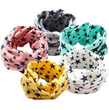 Child Kids Winter Warm Cotton soft Snood Scarf Shawl Boys Girls Neck Neckerchief baby accessories