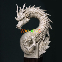 GK Demon Hunter Series High Quality Resin Model Toys China Dragon White Mould DIY Collection Ornamental Decoration Free Shipping