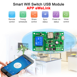 Image 2 - 2PCS 5PCS Wifi Switch eWeLink DC5V 12V 24V 32V Smart Home Automation Modules Phone APP Remote Control Timer Switch Voice Control