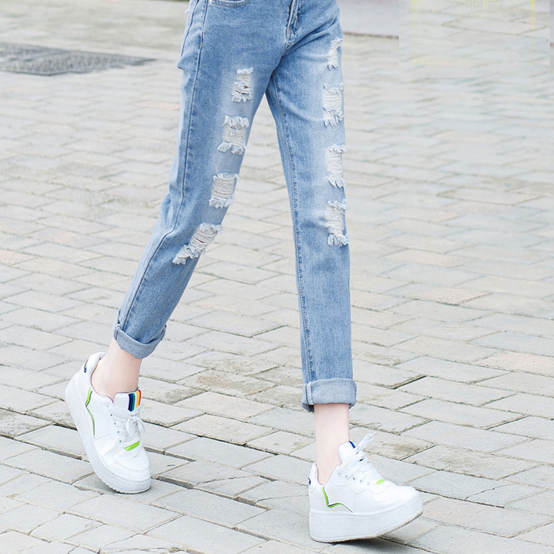 Maternity Clothes Straight Jeans Woman Pregnant Trousers Ripped Hole Pregnancy Jeans Belly Pants Maternity Overalls Embarazada Maternity Clothes Straight Jeans Woman Pregnant Trousers Ripped Hole Pregnancy Jeans Belly Pants Maternity Overalls Embarazada