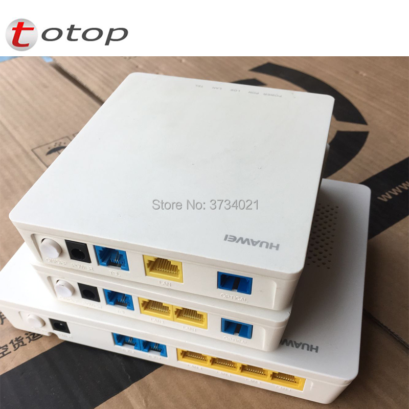 Secondhand Huawei HG8311 GPON ONU ONT With 1LAN+1POT Apply To FTTH Mode,H.248&SIP Double Protocl Wired Termina Gpon ONU