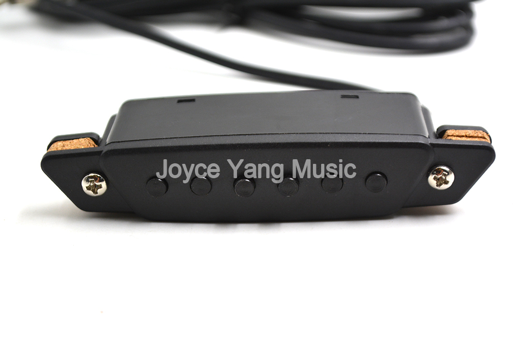 Niko Acoustic Guitar Pickup Wire 6.35 Jack To Amplifier Speaker Sound Hole Pickups Free Shipping