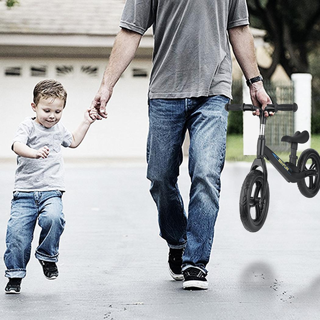 11.8-15.7 pouces enfants Balance vélo enfant pousser pas de pédale entraînement vélo siège réglable enfants apprendre à monter équilibre sportif - 5