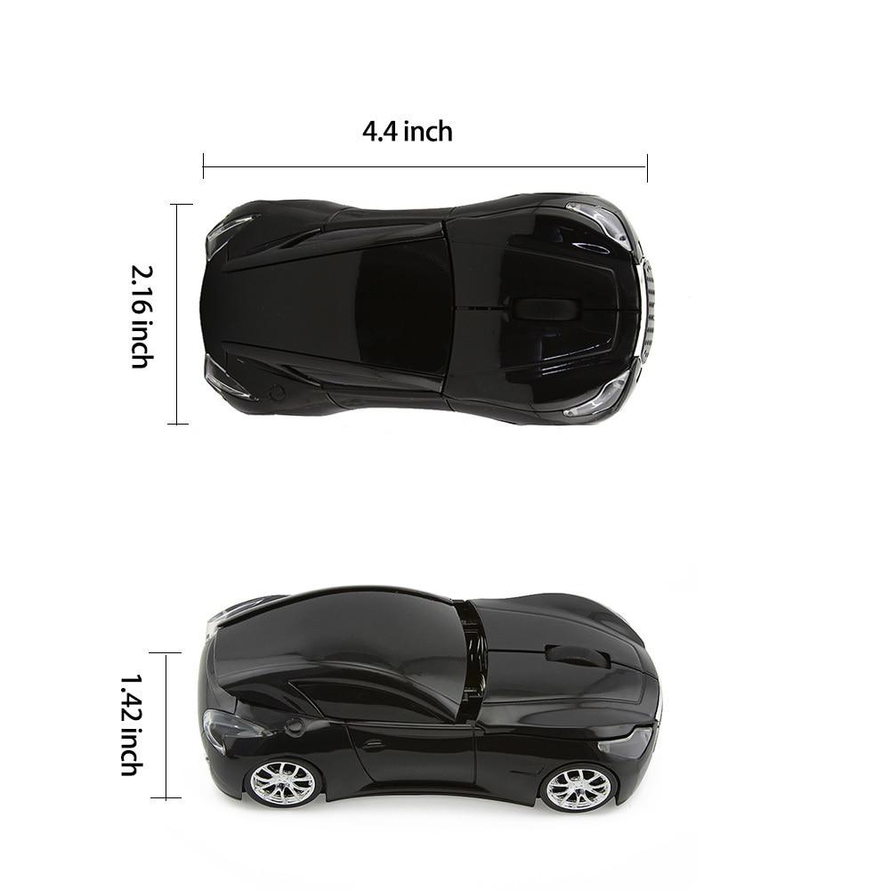 CHYI Wireless Mouse Infiniti Sports Car Mouse 1600 DPI - Համակարգչային արտաքին սարքեր - Լուսանկար 6