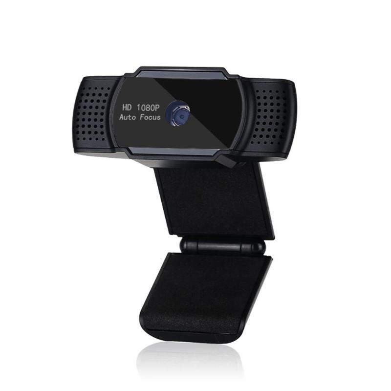 ALLOYSEED Q9 Auto Focus USB ordinateur caméra 1080 P 30FPS 5MP Webcam caméscope avec micro pour flux de jeu