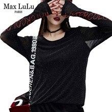 ファッション韓国ゴシックレディースメッシュトップス 最大ルル Tシャツ刺繍服女性カジュアル Tシャツレディースセクシーなレースの