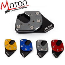 Free shipping Motorcycle Side Stand Pad Plate Kickstand Enlarger Support Extension For HONDA XADV X-ADV 750 2017 2018 X ADV