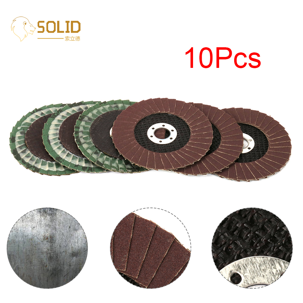 4 Inch 80~320# Sanding Flap Disc With 5/8