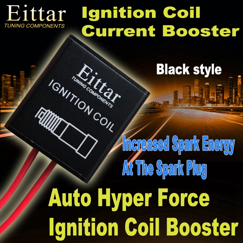 Eittar Ignition Coil Current Booster Auto Hyper Force Ignition Coil Booster for all petrol car