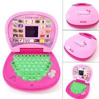 С мини-розовым и Буле, детский ноутбук компьютер машина алфавит игрушки язык Обучение обучение и образование