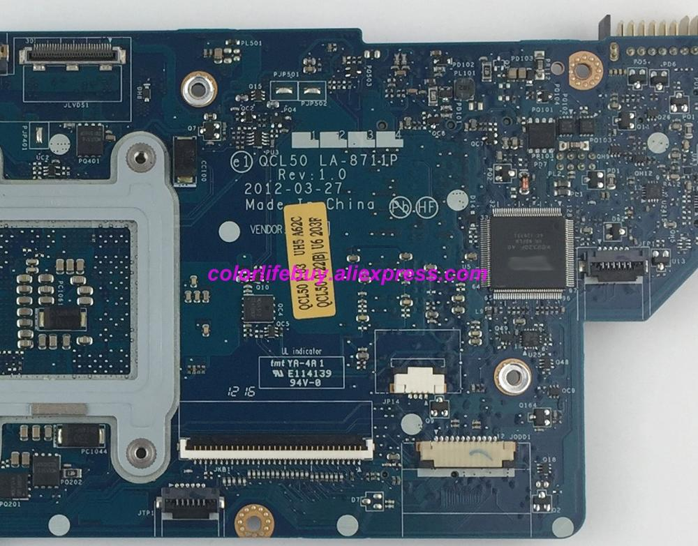 Image 4 - Genuine 86929 001 QCL50 LA 8711P w 7670M/1G HM77 Laptop Motherboard Mainboard for HP M6 M6 1000 Series M6T 1000 NoteBook PC-in Laptop Motherboard from Computer & Office