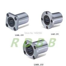 10 pcs LMK8UU LMK8 LMF8UU LMH8UU 8 มม.รอบแปลน BEARING สำหรับ 8mm Linear SHAFT