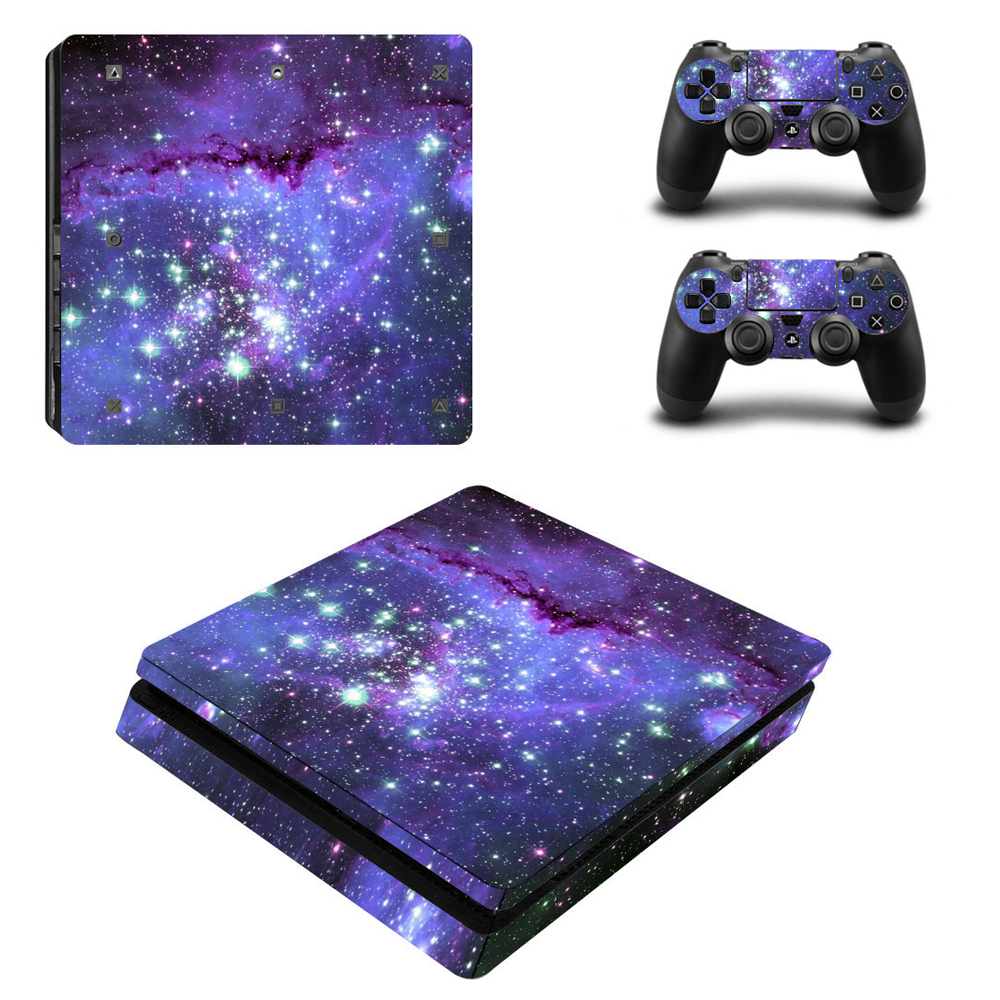 For PS4 Vinyl Skin Sticker Cover for PS4 Playstation 4 Console + 2 Controller Decal Game Accessories