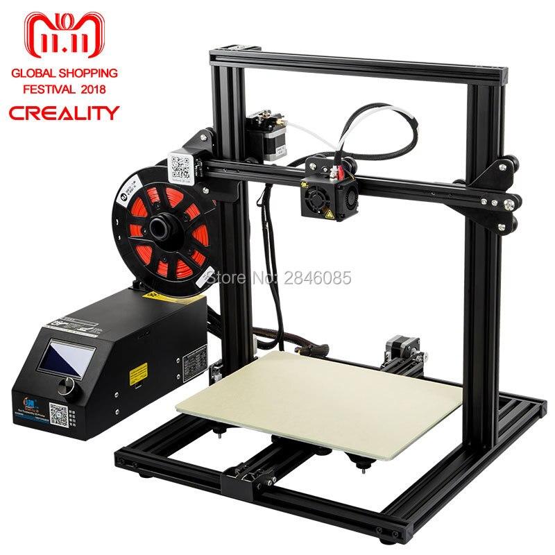 CREALITY 3D CR-10 Mini Semi Assemblato Alluminio 3D Kit Stampante Formato di Stampa 300*220*300mm Riprendere Stampa funzione di Spegnimento