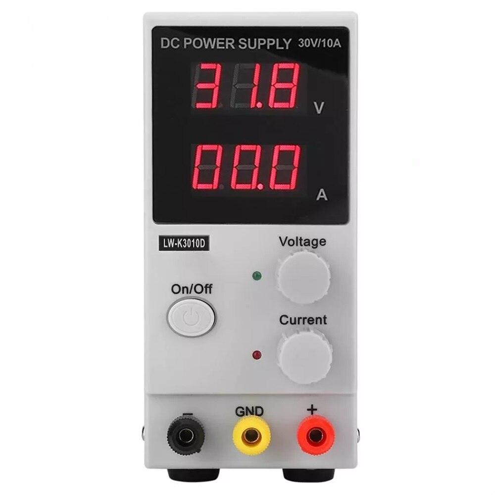 Régulateur de tension numérique d'alimentation réglable 30V 10A DC contrôleur de puissance de LED d'alimentation de laboratoire LW-K3010D 110 V/220 V