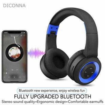 Multi-Function Head-Mounted Foldable Headset Wireless Bluetooth Sports Earphone Stereo Heavy Bass Headphone