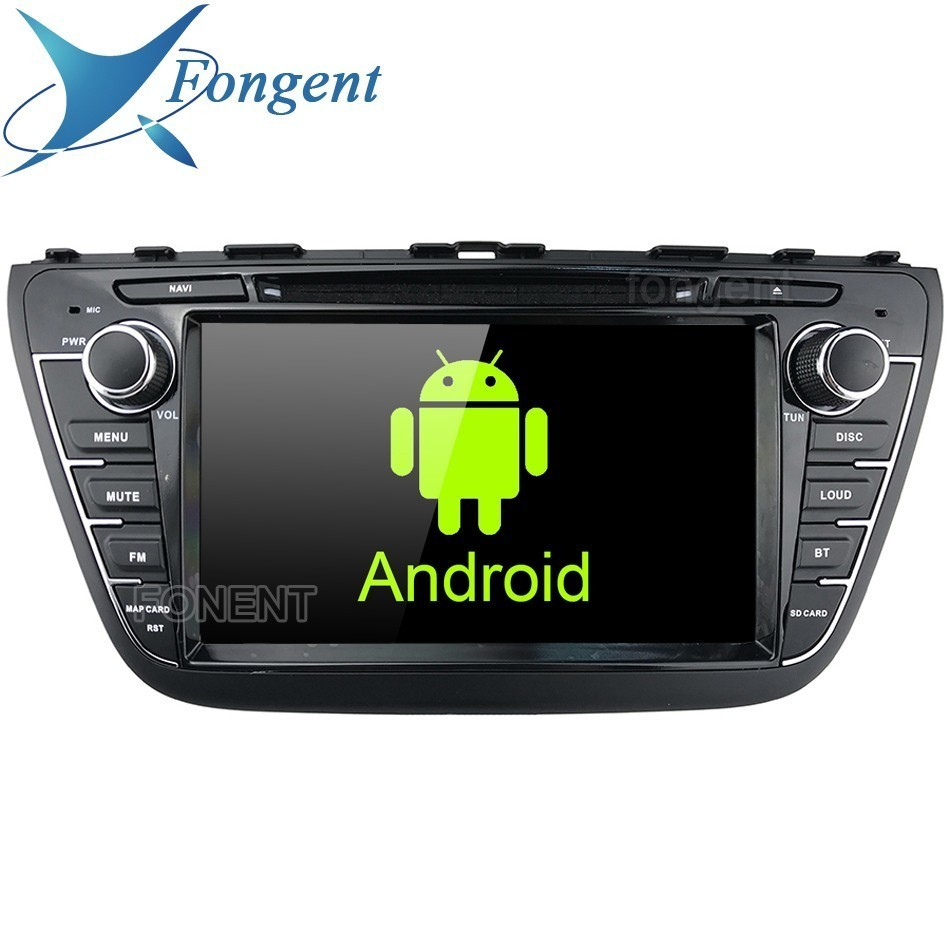 "For Suzuki SX4 S-Cross 2013 2014 2015 2016 Car 8"" IPS Android DVD Multimedia Auto Radio Stereo GPS Navigation Audio USB TMPS DVR"