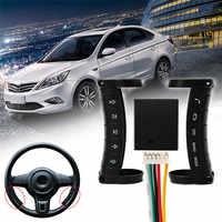 Controlador Da Roda de Direcção Universal Multi-função Sem Fio Botões de Navegação DVD Controlador