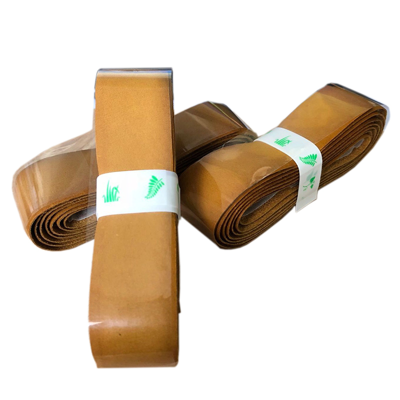 4pcs lot Genuine Cow leather Tennis replacement grip Pacific Pro Leather Grip 1 5mm Thickness