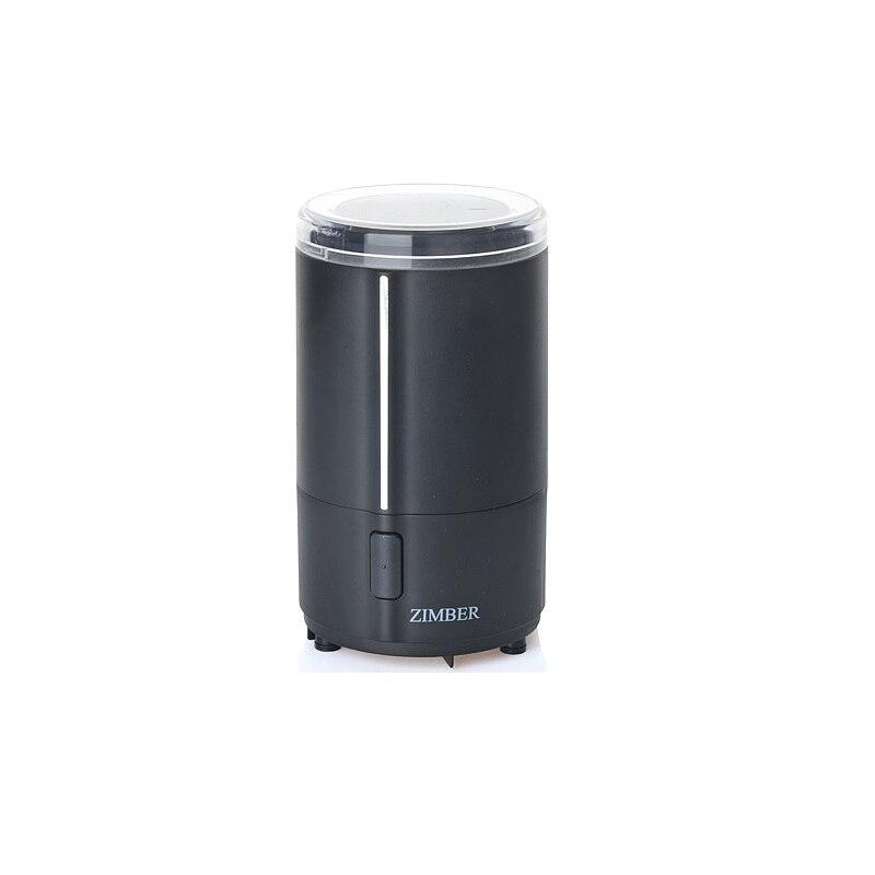 Кофемолка ZIMBER, 150 W, 50 мл, черный