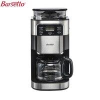 BARSETTO 1500ml Household Automatic Coffee Machine Bean Flour Grinding Coffee Maker EU Plug